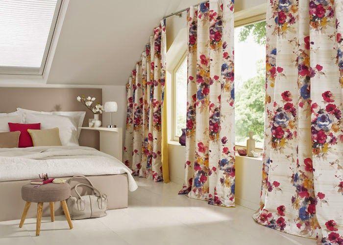 INDIRA: Seda estampada con motivos florales. | Seda estampada amb motius florals. #saum #ontario #fabrics