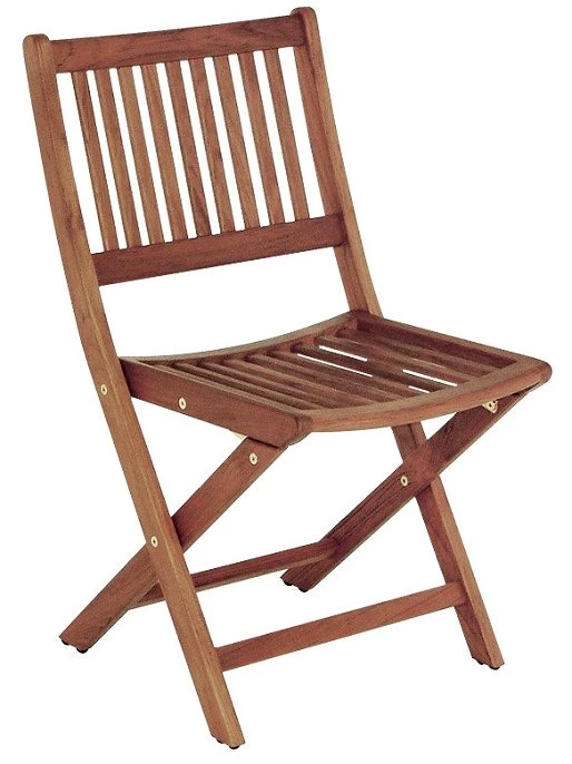 Excellent Yachting Teak Collection Armless Folding Chair New Coastal Onthecornerstone Fun Painted Chair Ideas Images Onthecornerstoneorg