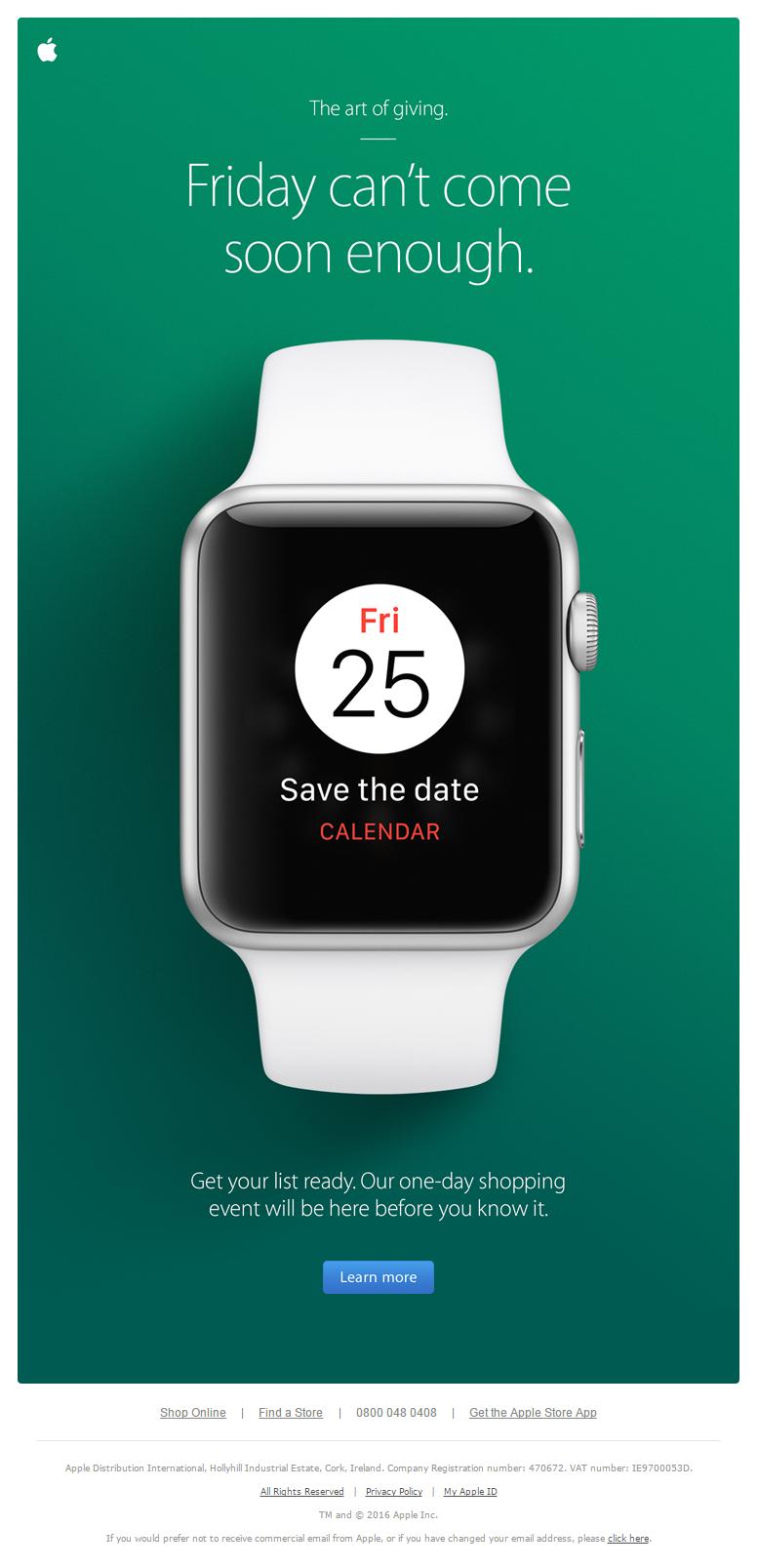 Black Friday Teaser Email From Apple Emailmarketing Email Marketing Blackfriday Black Frid Black Friday Email Apple Advertising Black Friday Email Design