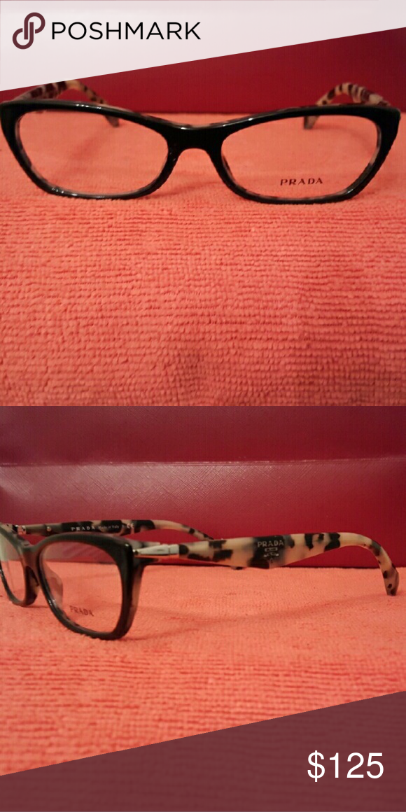 Prada eyeglasses New Black and white Prada Accessories Glasses