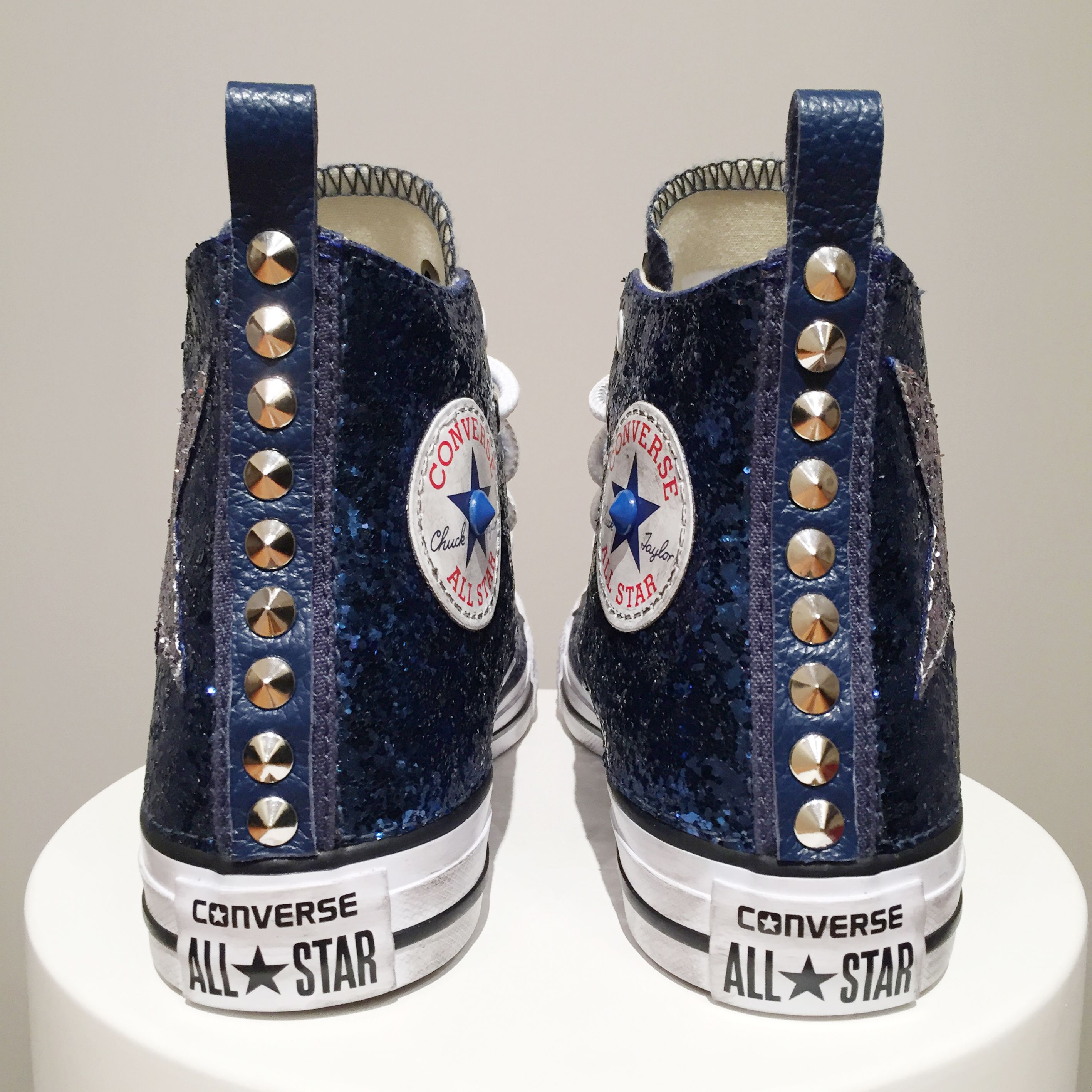 converse all star donna alte glitter