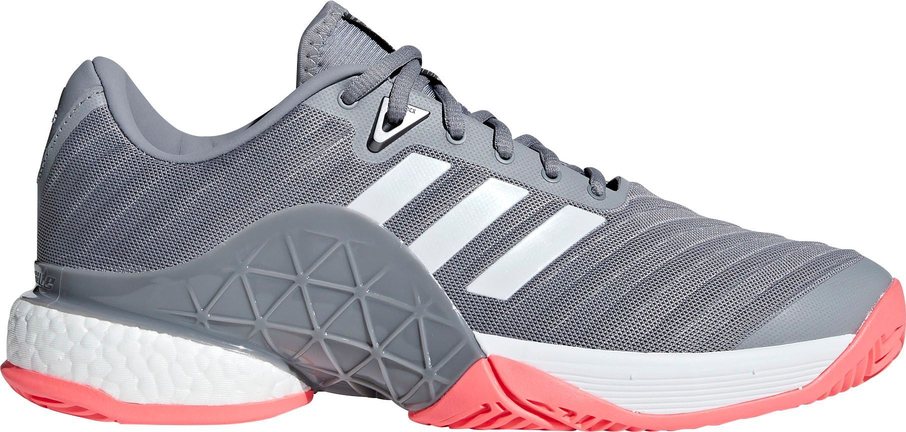 adidas Men's Barricade 2018 Boost Tennis Shoes in 2020