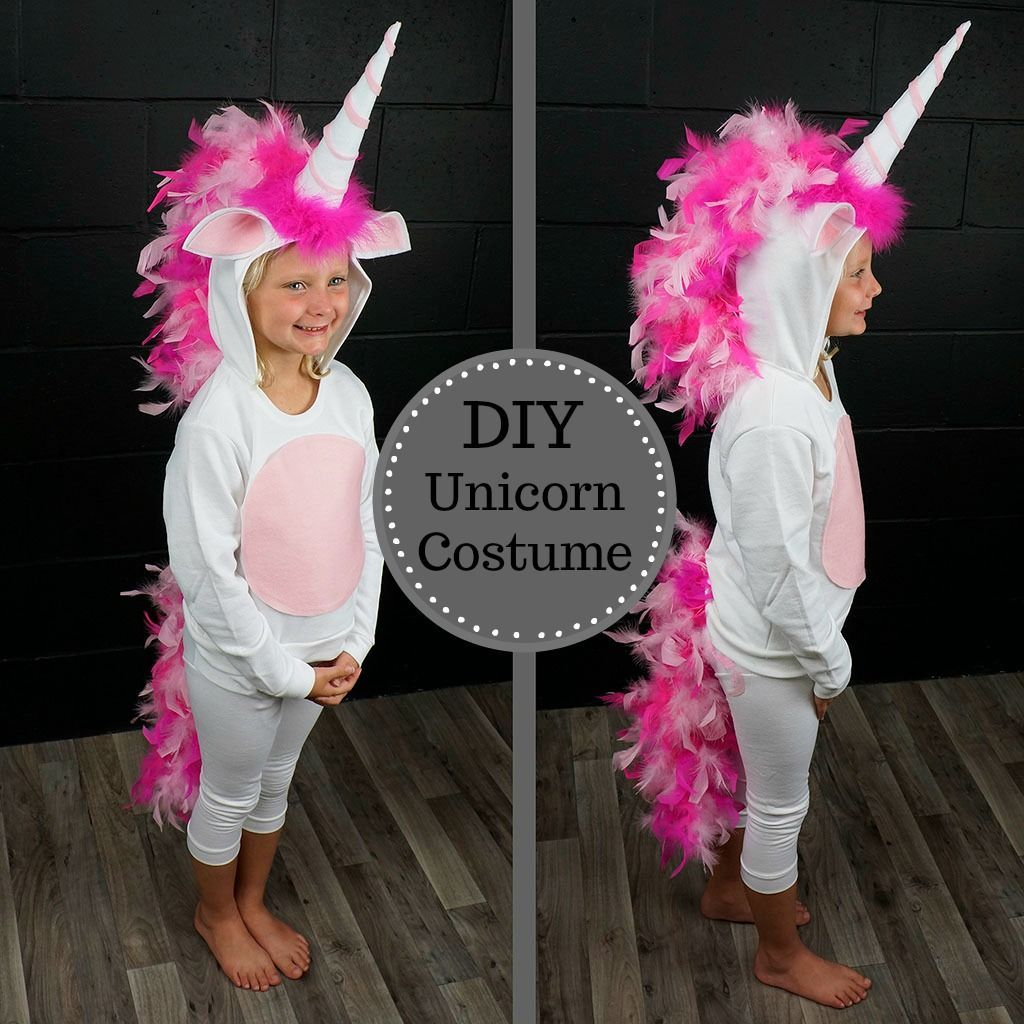 4a53d233db1d DIY #Unicorn Costume from @thefeatherplace #Halloween #Costume #DIY >>