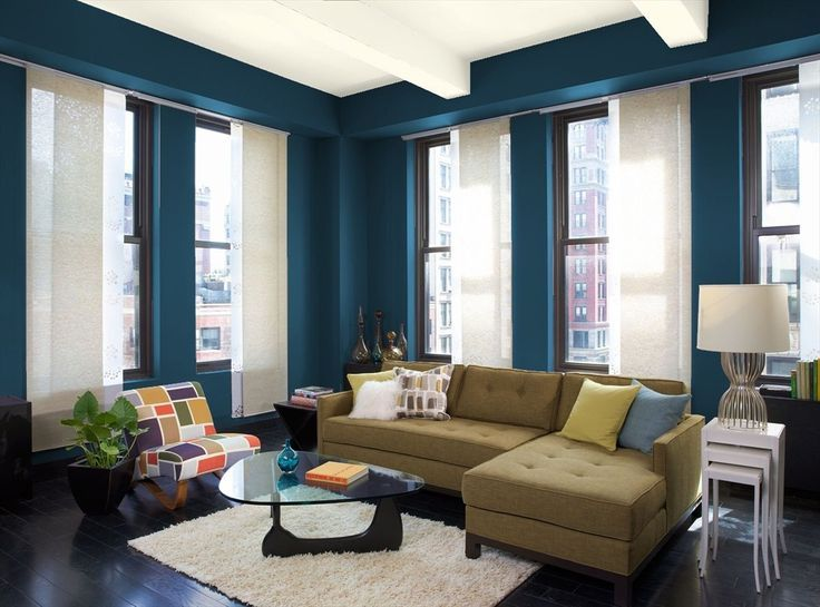 Danube Blue Paint Good Office Color For The Home