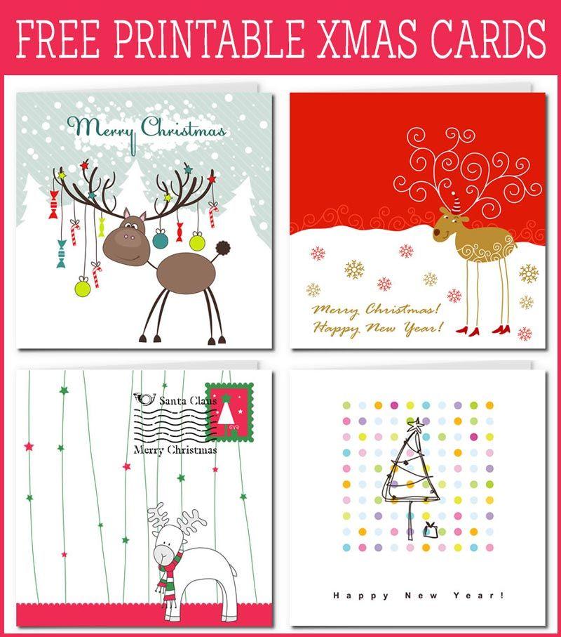 20 Gorgeous Free Printable Xmas Cards Free Printable Christmas Cards Xmas Cards Christmas Card Template