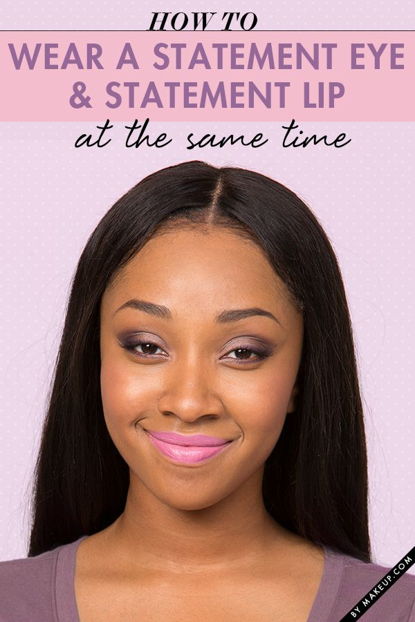 You CAN rock a statement eye and statement lip at the same time. We'll show you how to get this beautiful makeup look!