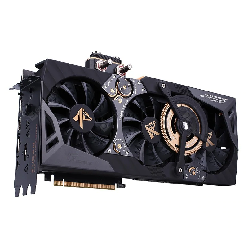 Colorful Nvidia Igame Geforce Rtx 2080 Ti Kudan Game Graphics Card Black Graphic Card Gaming Accessories Video Card