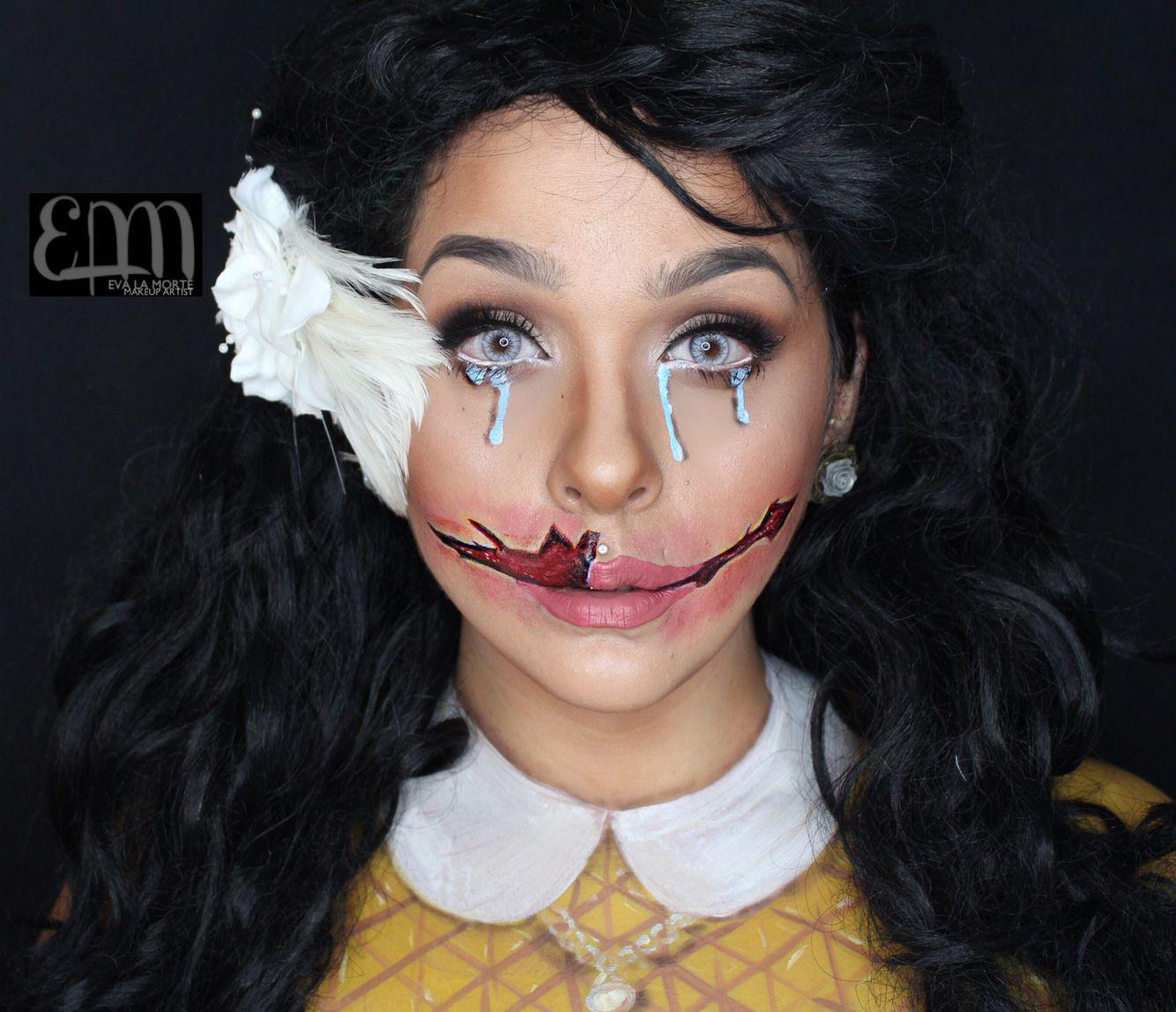 America Horror Story Murder house inspired makeup. Black dahlia ...