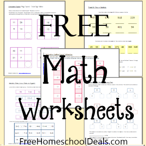 Free Math Worksheets 1st 2nd Grade Free Math Worksheets Free Math Math Worksheets
