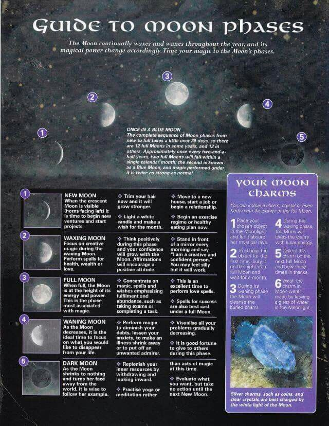 Moon Phases Moon Phases Book Of Shadows Witchy