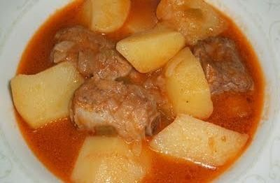 Costillas con patatas