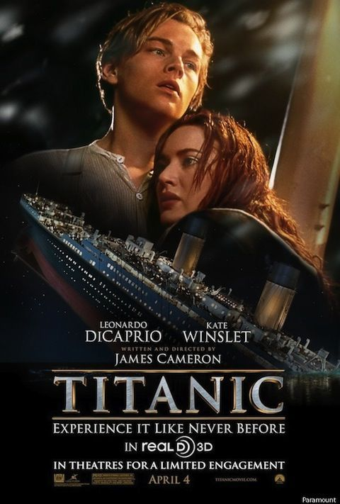 76c746bdd New Titanic 3D Poster Features Jack, Rose And The Ill-Fated Ship ...