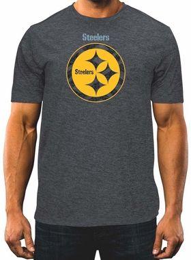 ea64e6133 Pittsburgh Steelers Majestic Breakaway Speed Men s Cool Base T-Shirt ...