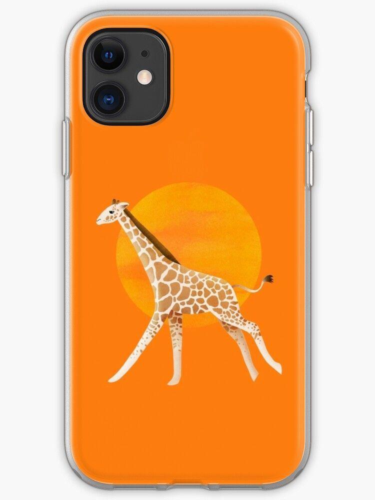 Photo of Giraffe und Sonne | Farbe Abbildung iPhone Case & Cover – Farbe Abbildung …