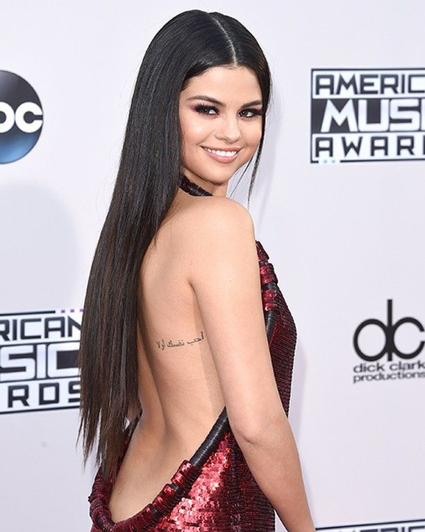 Soon You Can Have the Same Tattoos As Selena Gomez Selena Gomez is ready to embark on her highly anticipated Revival tour in two weeks. The singer has been giving fans glimpses on Instagram of what they can expect from the concert and while we're sure the show is going to be insanely great it's the merch that's got us excited. Gomez announced via Instagram that she will be selling temporary versions of her seven existing tattoos as part of her tour merchandise http://ift.tt/26f6wF8