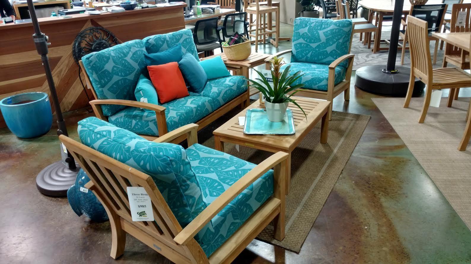 Three Birds St. Lucia Patio Teak Furniture