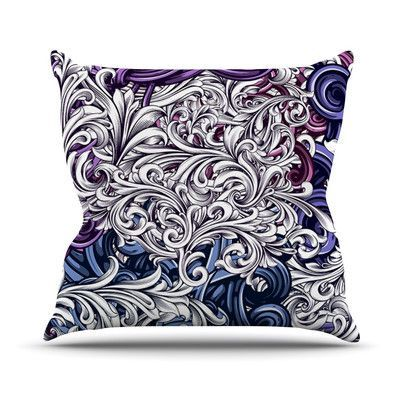 23 x 23 Square Floor Pillow Kess InHouse Oriana Cordero Lisboa Blue Yellow