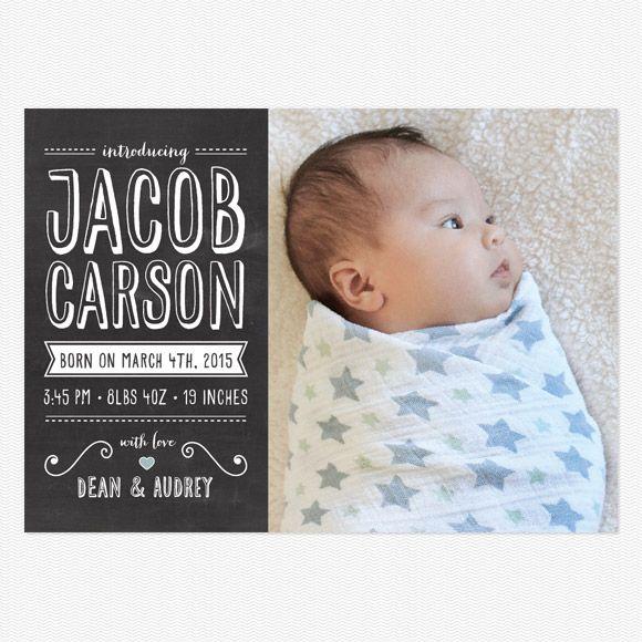 baby announcements boy