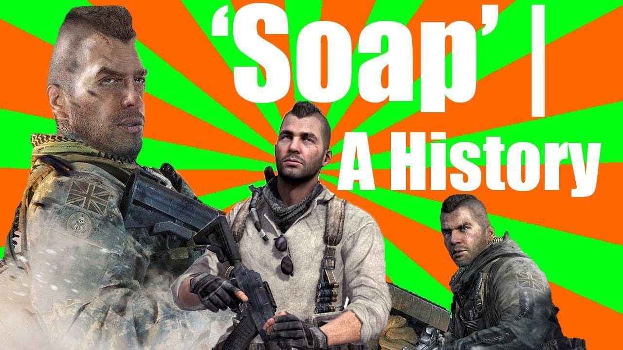 John Soap Mactavish A History Cod Pinterest Modern Warfare