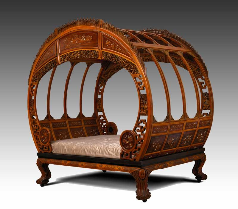 chinese beds | PEM | Asian Export Art « Collections | CHINESE ...