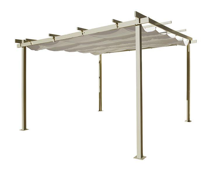 Pérgola De Aluminio Elegance Ref 13433035 Leroy Merlin
