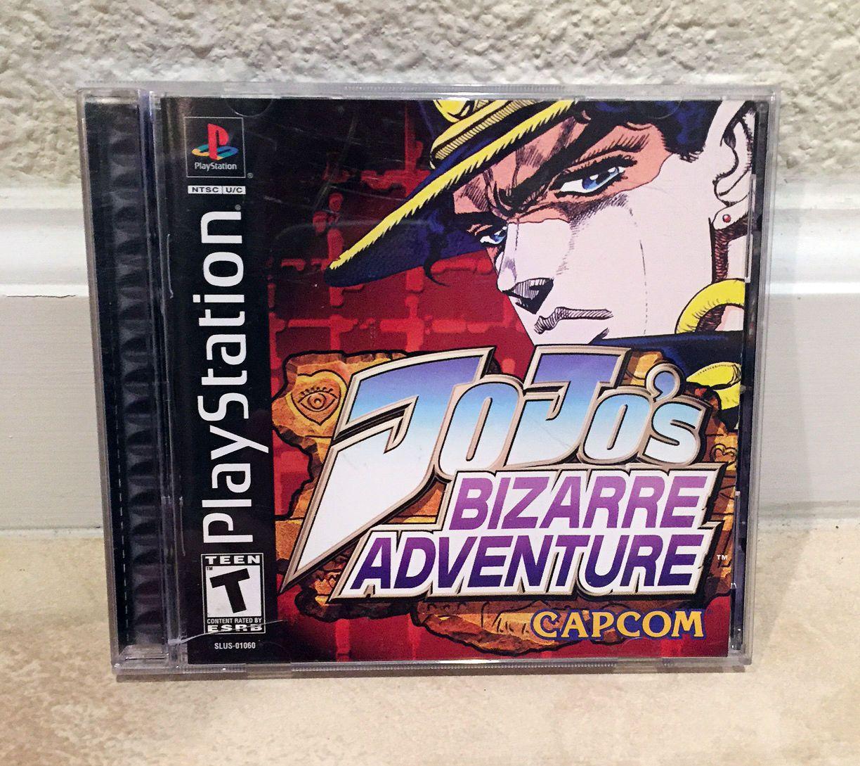 Jojo S Bizarre Adventure Sony Playstation 1 Ps1 2000 Complete Excellent Rare Video Game Jojo S Bizarre Adventure Jojo Bizzare Adventure Jojo Bizarre