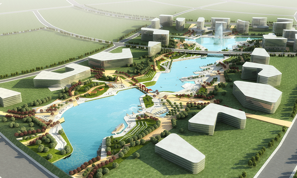 HASSELL   Projects - Tangshan New City Planning Landscape ...