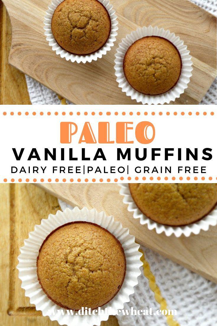 Gluten Free Vanilla Cinnamon Muffins