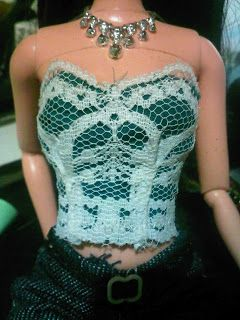 """""""for the love of dolls sewing experiments"""" lace top"""