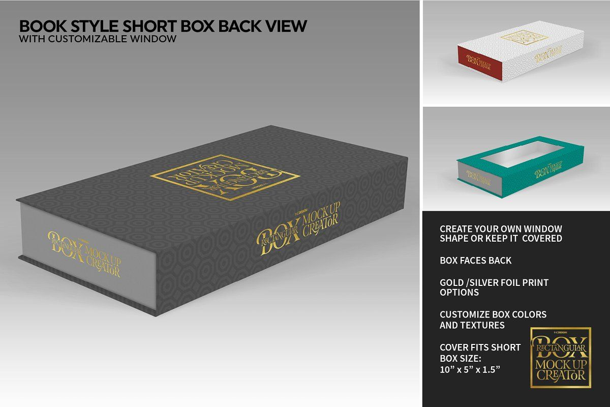Download Rectangular Box Mock Up Creator Branding Template The Creator Box Packaging