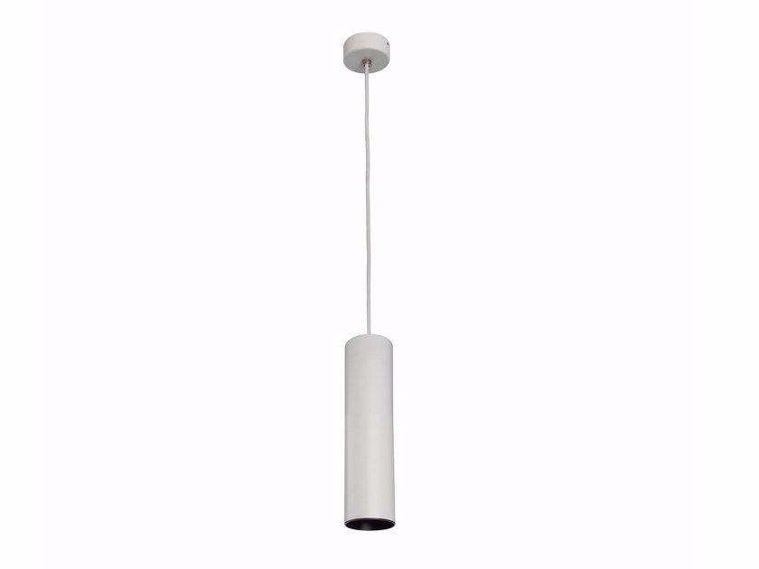 Lampada A Sospensione A Led A Luce Diretta In Alluminio Verniciato A