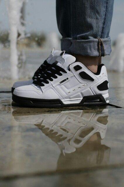 25c09720fc Osiris Peril white/black 2016 | Stég PRODUCT SHOTS | Sneakers nike ...