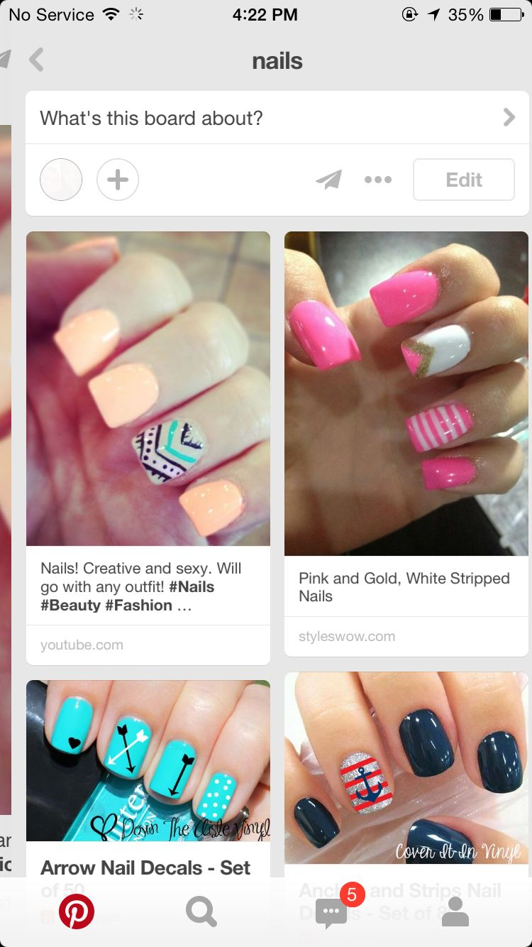 Pin by Briana Adkins on Simple nails Arrow nails, Simple