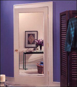 Delightful Mirror Impression Door By HomeStory Doors