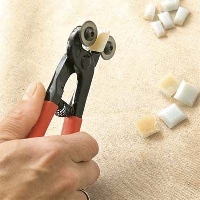 How to cut backsplash tile without a saw
