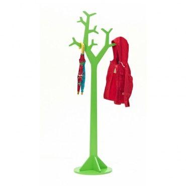 Planetree Coat Rack - Large - Green - Milan Direct