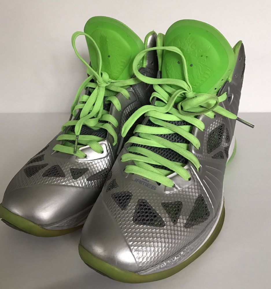 30404376b4ce Nike LEBRON 8 PS Dunkman color silver white gray green Men s Size 14   NikeLeBron  AthleticBasketball