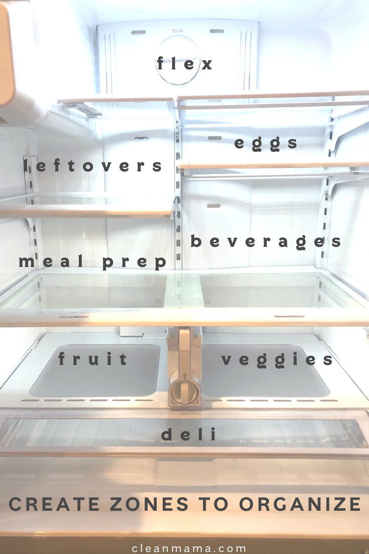 How to Clean and Organize a Refrigerator and Freezer
