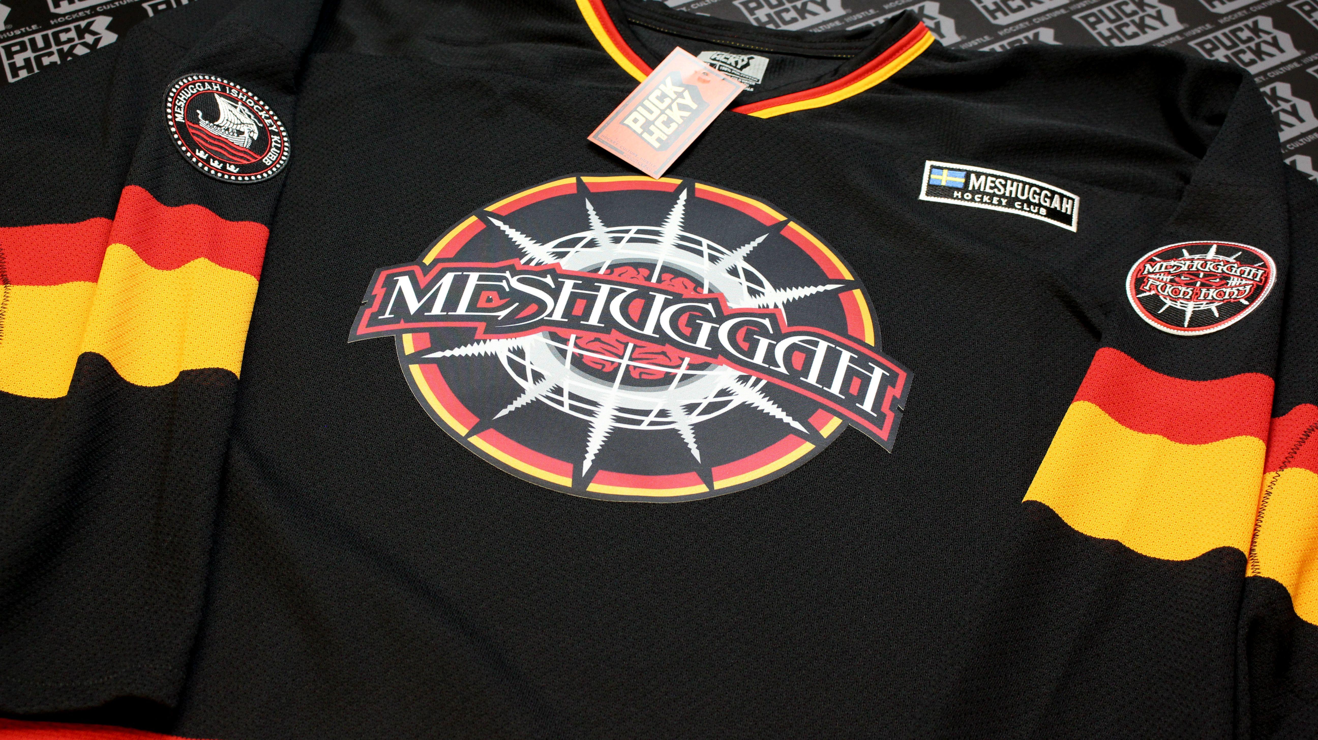 Meshuggah 'chaosphere' hockey jersey How to wear, Hockey