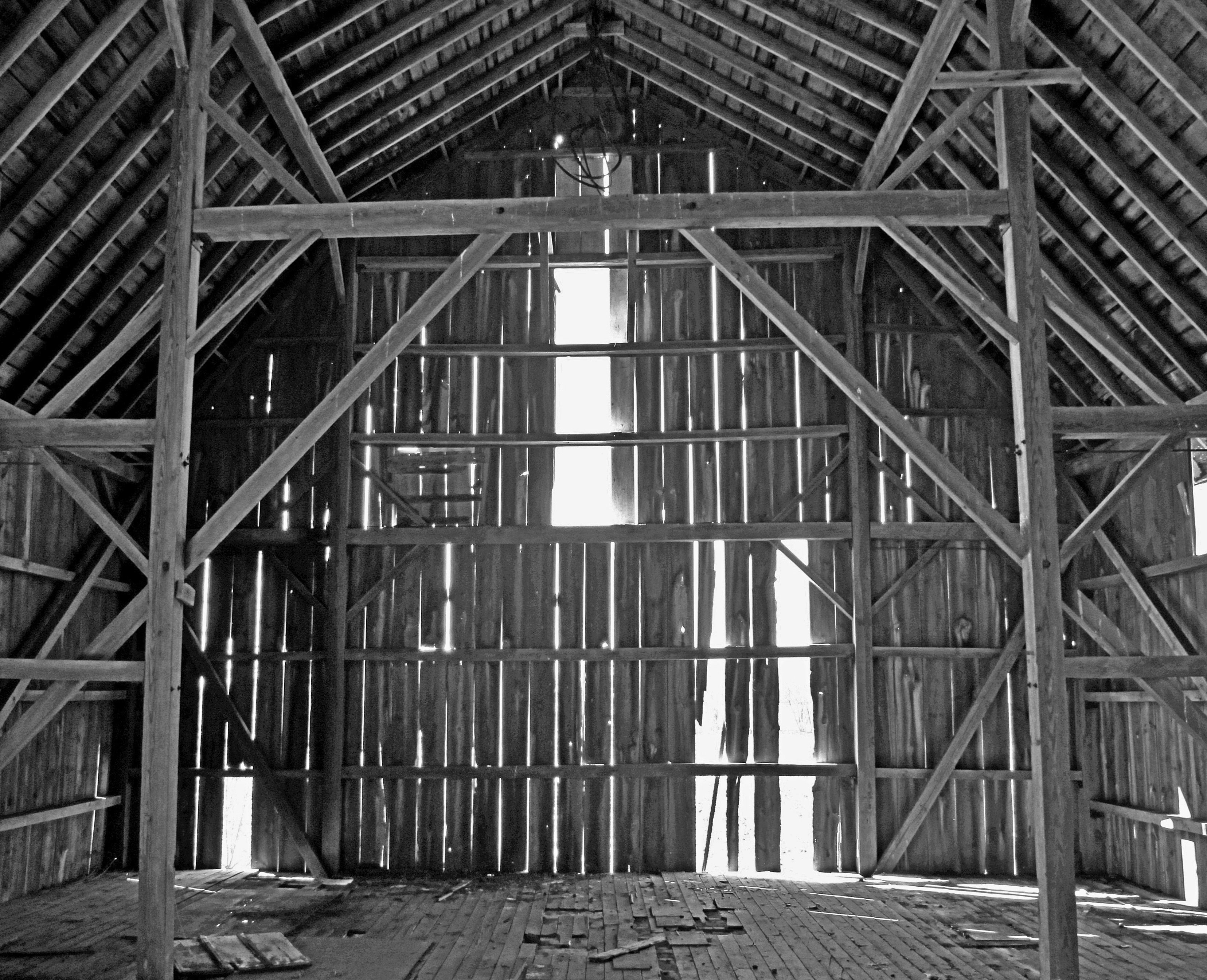 Interior Abandoned Barn There Really Are Dust Particles Dancing Around Constantly