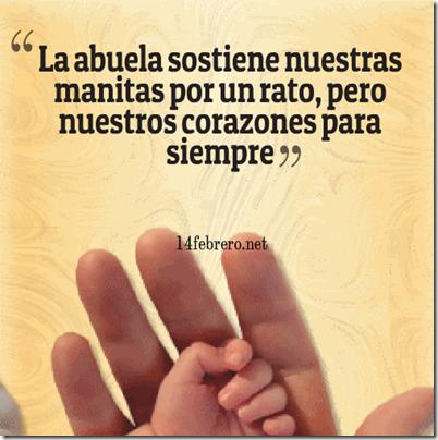 Frases De Abuelitas Para Sus Nietos Buscar Con Google Abuelos Y