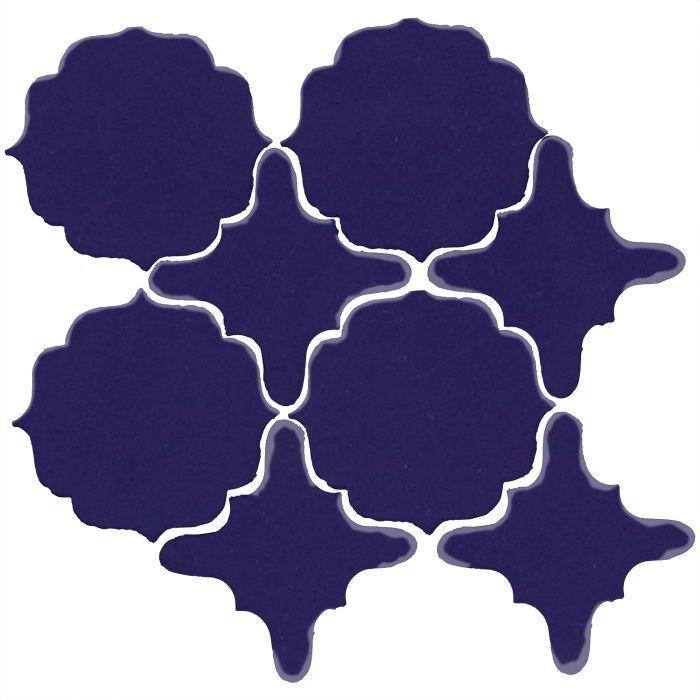 Clay Arabesque Meknes Tile