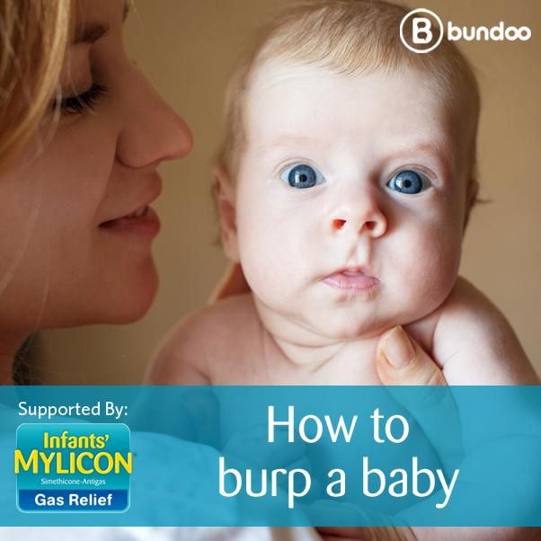 Is there a right way to burp a #gassybaby? Dr. Sara shows you how.