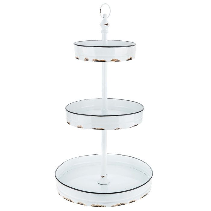 Distressed White Three Tiered Metal Stand Hobby Lobby Hobby Lobby Furniture 3 Tier Metal Stand