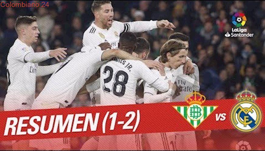 Resumen de Real Betis vs Real Madrid (12) Real madrid