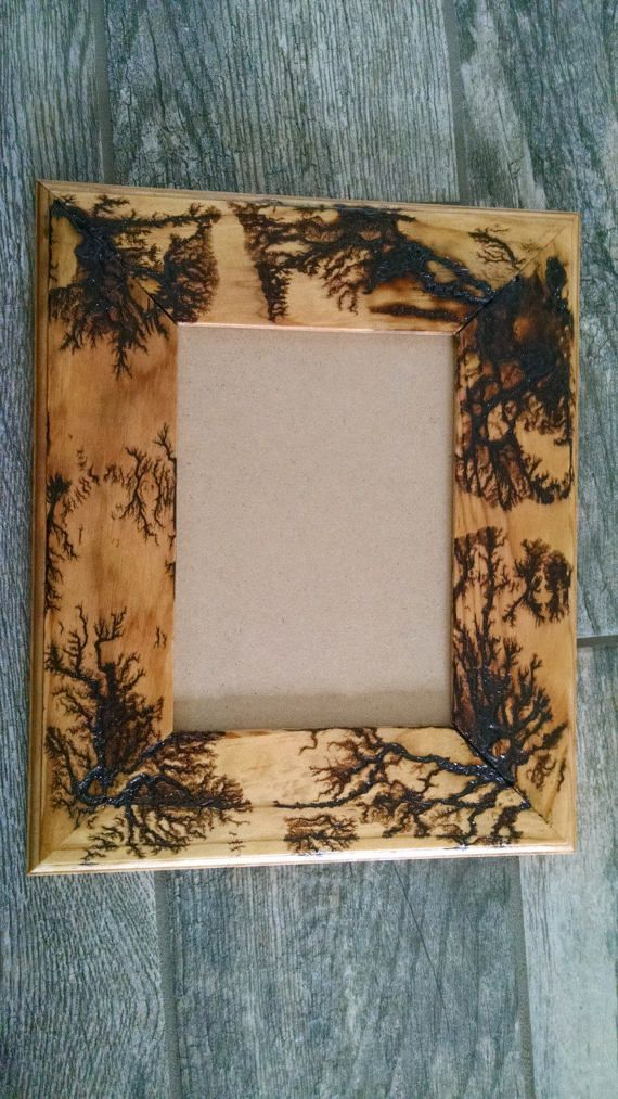 Fractal Lichtenberg Figure Wood Burning picture by utcraftboy | wood ...