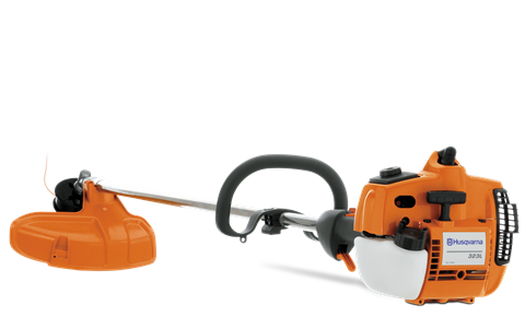 Husqvarna 323L. Lightweight trimmer that is perfect for professional landscape contractors looking for the quality of Husqvarna's E-Tech engine and the ergonomic features unique to a straight shaft.