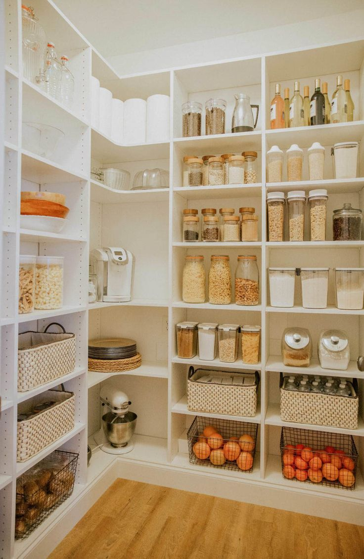 Pantry design project from start to…