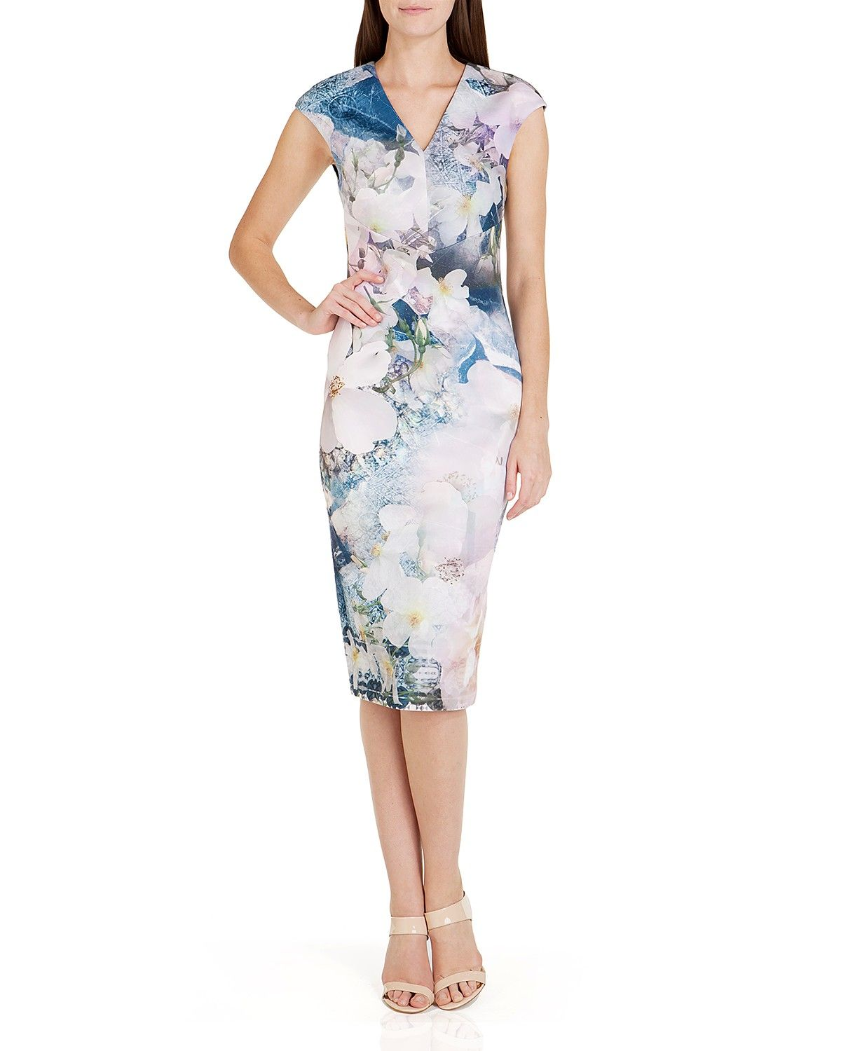 6f9df1231f06 Ted Baker Amily Floral Sheath Dress