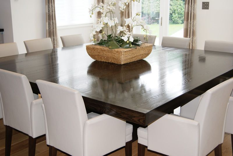 Simple Of 12 Seater Square Dining Table Room For